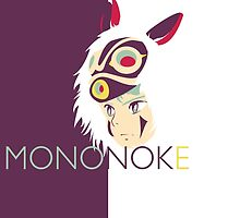 Princess Mononoke by Optimistic  Sammich