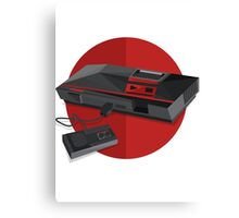 Game console Japan Canvas Print