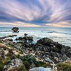 Point Peron Cliffs by Glen  Robinson