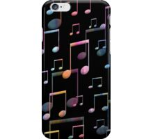 Colorful Musical Notes iPhone Case/Skin