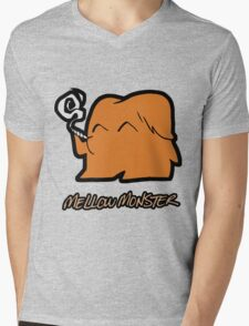 Mellow Monster Mens V-Neck T-Shirt