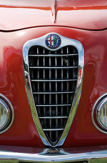 Alfa Romeo Giulia Grille 2 by Flo Smith