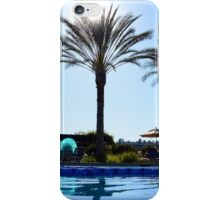 Back Float in the Pool iPhone Case/Skin