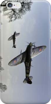 Boys will be boys: low-flying Spitfires by Gary Eason + Flight Artworks