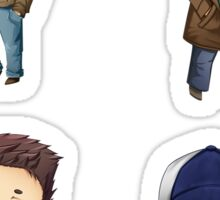 Supernatural - Team Free Will Sticker Set Sticker