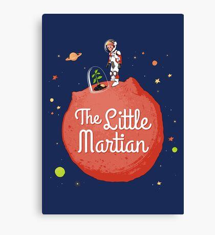 The Little Martian Canvas Print