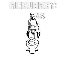 Star Wars Stormtrooper Accuracy Photographic Print