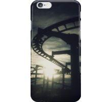 Roller Coaster Silhouette  iPhone Case/Skin