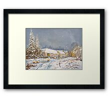 Coombe Warren. Framed Print