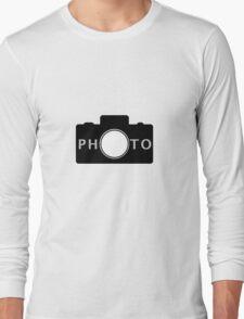 Photo camera Long Sleeve T-Shirt