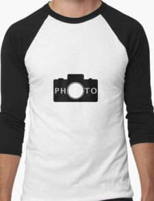 Photo camera Men's Baseball ¾ T-Shirt