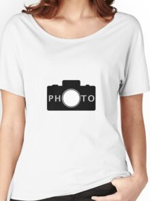 Photo camera Women's Relaxed Fit T-Shirt