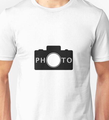 Photo camera Unisex T-Shirt