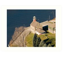 Selkirk Light Art Print