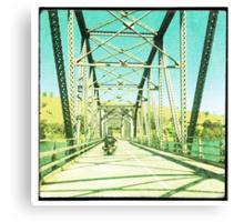 Crossing the Bethanga Bridge Canvas Print