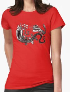 Tiger & Dragon Womens Fitted T-Shirt