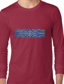 Eastern Rush Landscape Long Sleeve T-Shirt
