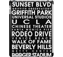 Los Angeles City Roll iPad Case/Skin