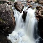 Lower falls in Glen Nevis by EileenW