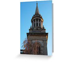 Oxford Church Spire Greeting Card