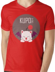 Kupo!! Mens V-Neck T-Shirt