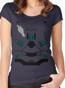 Master Chief Halo 4 Armour Women's Fitted Scoop T-Shirt