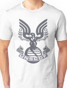 Halo UNSC Shirt (Shirt & Stickers) Unisex T-Shirt