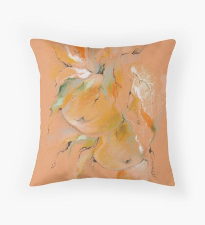 Apples in the wind Throw Pillow