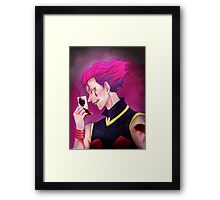 Hisoka the Magician [ Hunter x Hunter 2011 ] Framed Print