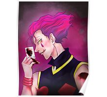 Hisoka the Magician [ Hunter x Hunter 2011 ] Poster