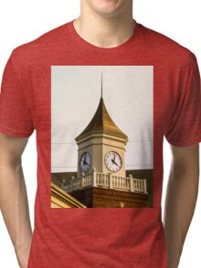 Clock Tower Tri-blend T-Shirt