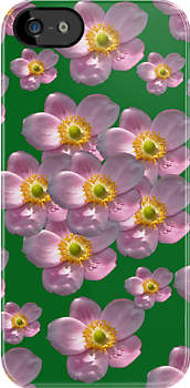 Flower Power Peony 04 iPhone Case by ManateesDesign