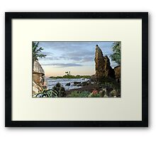 2330-Available Even There Framed Print