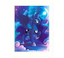 Princess Luna Art Print