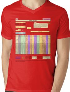 Business smart Mens V-Neck T-Shirt