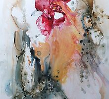 Yupo -3 by Bev  Wells