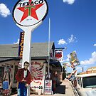 Route 66 - Seligman, Arizona by Frank Romeo