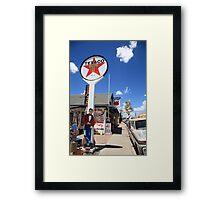 Route 66 - Seligman, Arizona Framed Print