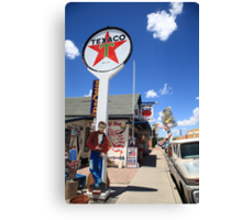Route 66 - Seligman, Arizona Canvas Print