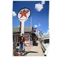 Route 66 - Seligman, Arizona Poster