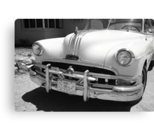 Route 66 - Classic Car Canvas Print