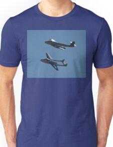 Flypast: Meteor & Vampire @ Temora 2007 Unisex T-Shirt