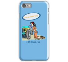 Pin-up speed shop! iPhone Case/Skin