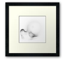 Watch what happens... Framed Print