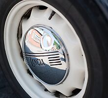 Lancia Aprilia Wheel by Flo Smith