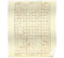 USGS Topo Map Washington State WA Winchester 244748 1910 62500 Poster
