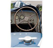 Bugatti Dashboard Poster