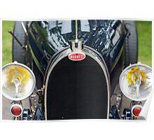 Bugatti Grille Marque2 Poster