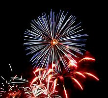 Red, White & Blue Fireworks! by Gene Walls