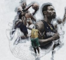 Heart to Defend-Tony Allen by Philip Thompson